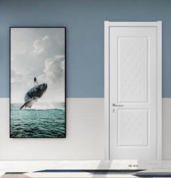 免漆门多种色彩改变,更具有现代感